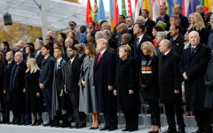 World leaders on Sunday gathered in Paris to mark the 100th anniversary of the end of World War I.