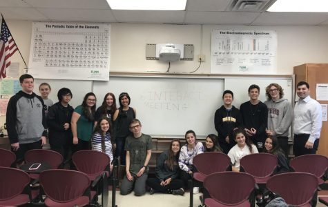 Mr. Falcon Assumes Leadership Role for Interact Club and New Goals Develop
