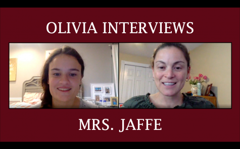 Olivia Interviews: Mrs. Jaffe!