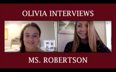 Olivia Interviews: Ms. Robertson
